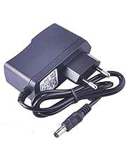 Universal AC 100-240V to DC 9V 1A Switching High Power Supply Converter Adapter EU Plug för LED Strips för mobiltelefontillbehör - Svart EU