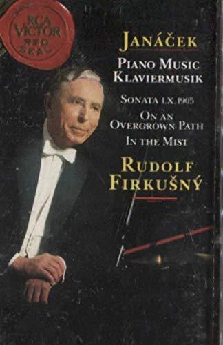 Rudolf Firkusny: Janacek Sonata 1.X.1905 On an Overgrown Path Cassette Tape