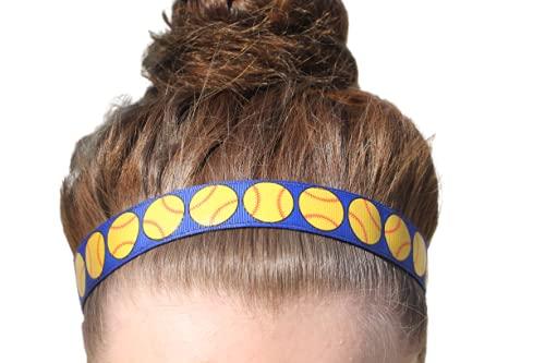 Girls Softball Headbands from Sporty Girl Accessories