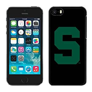 Customized Iphone 5c Case Ncaa Big Ten Conference Michigan State Spartans 8