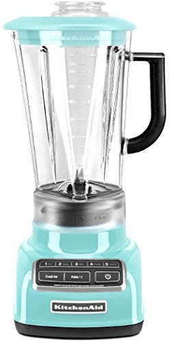 KitchenAid KSB1575BU 5-Speed Diamond Blender with 60-Ounce BPA-Free Pitcher - Cobalt Blue