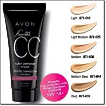 "Avon Ideal Flawless Color Correcting Cream ""CC Cream"" Light"