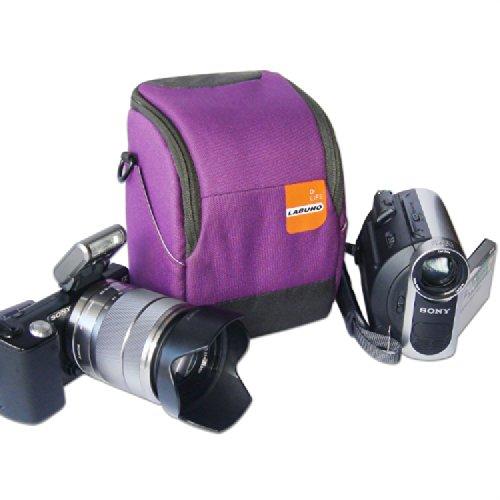 "First2savvv high quality anti-shock purple Nylon camcorder case bag for LEICA M-A M A LA CARTE M EDITION ""LEICA 60"" T LEICA M TECHNICAL EQUIPMENT X-E X 'EDITION MONCLER' X D-LUX LEICA D-LUX 6 'EDITION BY G-STAR RAW' M240 SAMSUNG GN100 Canon LEGRIA HF R66 LEGRIA HF R68 VIXIA HF R600 VIXIA HF R60 VIXIA HF R62 panasonic HC-WX970 panasonic HC-V270 HC-VX870K V-160 HC-V770 HC-W570 SONY HDR-CX405 HDR-CX440 HDR-PJ440 HDR-PJ670"