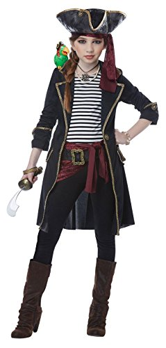 Costume High Seas (Girls High Seas Captain Costume size XL)