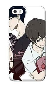 For Iphone 5/5s Tpu Phone Case Cover(zankyou No Terror Ost)(3D PC Soft Case)