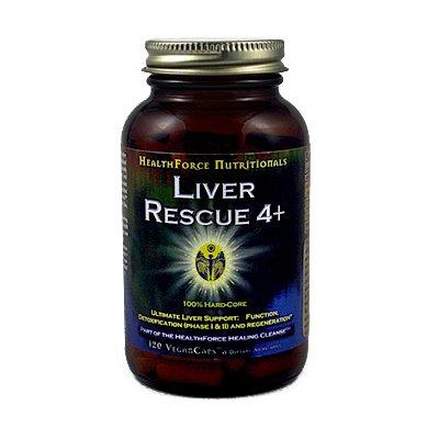 Foie RescueTM 5+ 120 Vegan Capsules