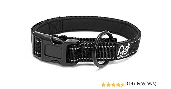 Happilax Collar Perro pequeño y Cachorro, Ajustable y Resistente ...