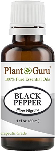 Black Pepper Essential Oil (Piper Nigrum) 30 ml. 100% Pure Undiluted Therapeutic Grade. (Black Clove Cigarettes)