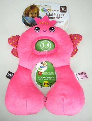 1-4Jahre Feendesign Pink BenBat Travel Friends Nackenkissen f/ür Kinder