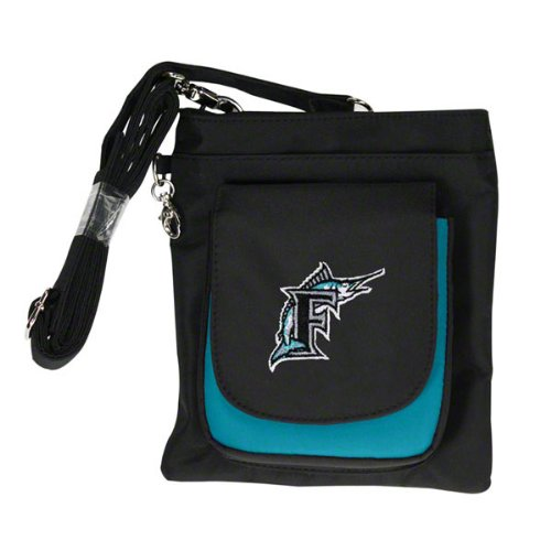 MLB Florida Marlins Travel Purse   B003BRJROE