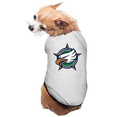 JJVAT University Of North Texas Pet Doggy Tee Gray