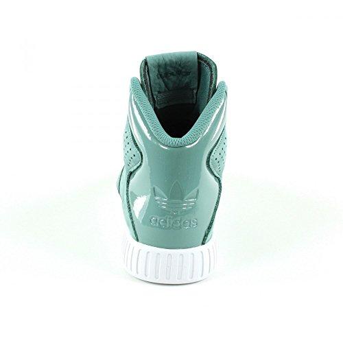 Adidas Tubolare Invader 2.0 Donne Hi Scarpe Running Scarpe Da Ginnastica Grigio Ba7509 Bianco