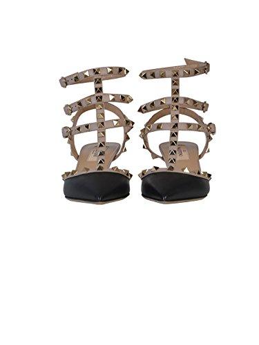 À Garavani Mw2s0375vodn91 Chaussures Valentino Cuir Femme Noir PYFzPqfw