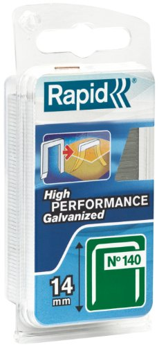Rapid High Performance Staples, Diverging Points, No.140, Leg Length 14 mm, 40109576-648 Pieces