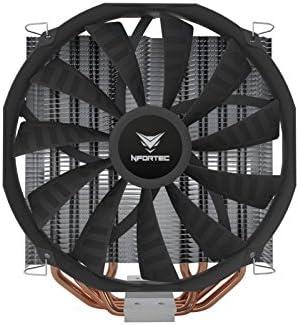Nfortec Vela KX - Disipador CPU, Color Nergo: Amazon.es: Informática