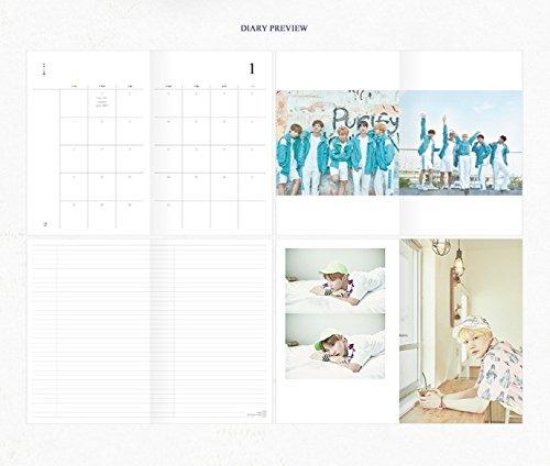 BTS GOODS Calendario de escritorio y diario y hacer dvd y ...