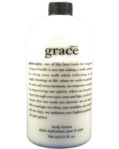 Philosophy Pure Grace Perfumed Body Lotion Super Sized 32 Oz