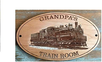 Collectible Signs WESTERN MARYLAND SHAY 6 RAILROAD TIN SIGN Train Art