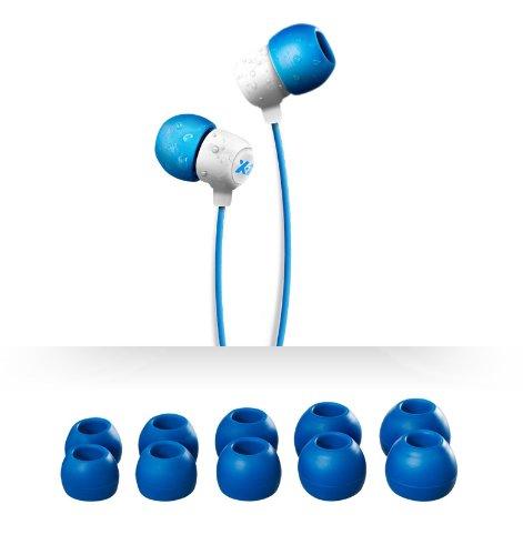 X-1 (Powered by H2O Audio) IE2-BK-X Surge Waterproof Sport In-Ear Headphones (White), Best Gadgets