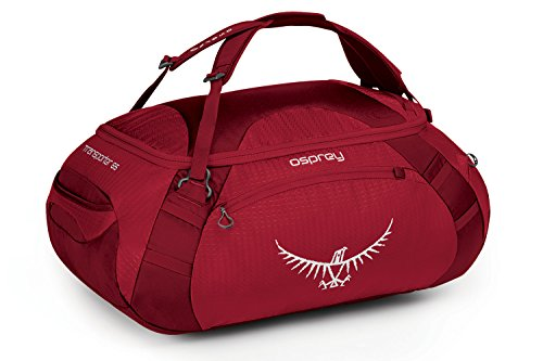 Osprey Transporter Travel Duffel Bag Hoodoo Red 65-Liter