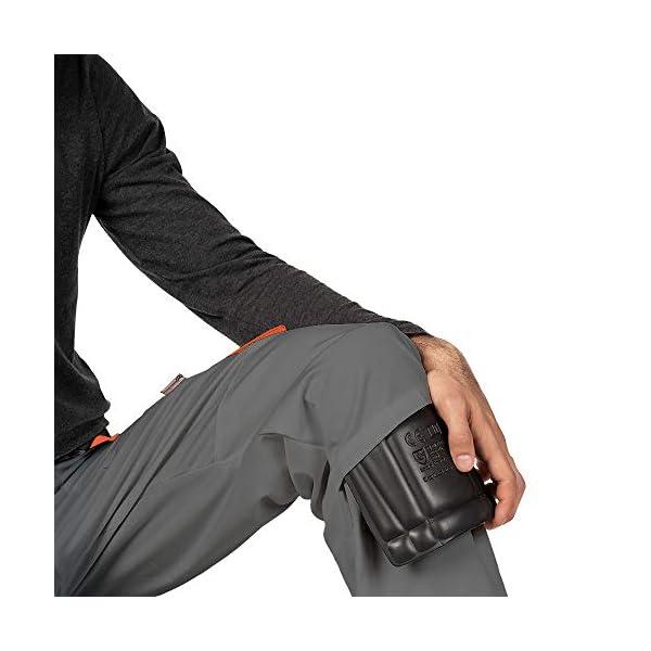 Pantalon de Travail Homme, avec des Poches Genouillere, Vetement Travail, Grande Taille S – XXXL, Pantalon Travail Homme…