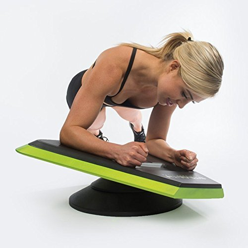Stealth Core Trainer Professional, Dynamic Ab Plank Workout, Interactive Fitness Board Powered By GamePlay Technology For a Healthy Back and Strong Core (Glow Green) by Stealth (Image #8)