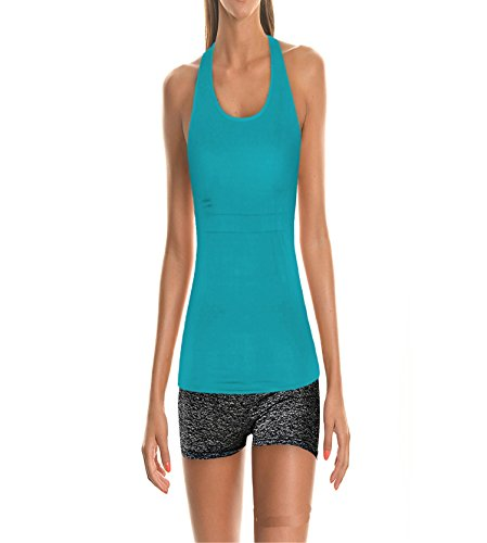 LeNG Solid Color Vest Wild Women's Clothing Quick Breathable Movement Vest YBY (46dd Colour)