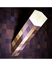 Light-Up Wall Torch, Minecraft Light, Night Lamp, Torch Light, Lava Lamp Mood Light, Wall Mounting Lighting Kids Child Toy Presents, Home Decoration