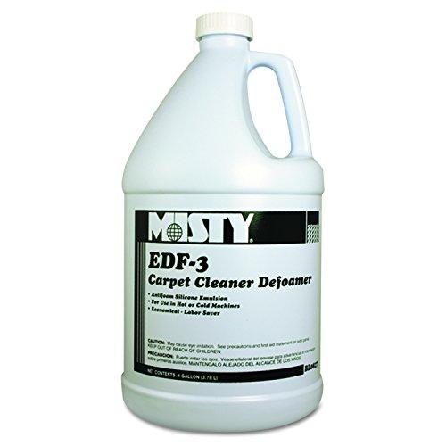 Misty R8274 EDF-3 Carpet Cleaner Defoamer, 1 gal. Bottle(Pack of 4) (Misty Cleaner)