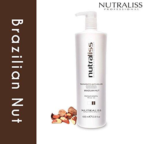 Nutraliss Brazilian Nut Premium Keratin Anti-Volume Treament Liter by Nutraliss