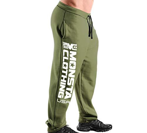 Monsta Clothing Co. Men Workout (ES:MC-MonstaClothingUSA) Sweatpants (G:MG-A:WT)
