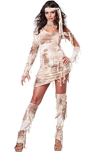 Women Egyptian Mystical Mummy Adult Costume - Mystical Mummy Costumes