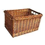 Large Wicker Shopping Trolley Basket