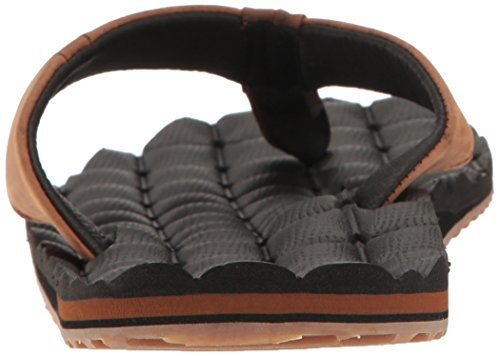 Volcom Flip Flop Brown Sandal Vintage Recliner Mens Mens Volcom Leather q7dwX1v