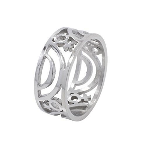 Venus Female Symbol Carved Ring - Lesbian Pride Steel Ring Female Lesbian Pride Ring. steel ring band for for Lesbians. Rainbow Pride Lesbian Jewelry. SIZE (9) for $<!--$12.99-->