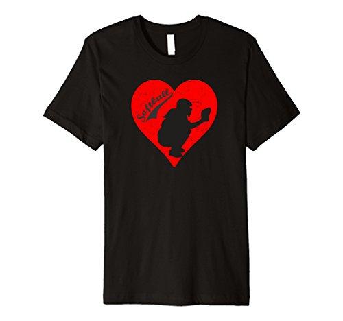 Softball Catcher Love T-Shirt