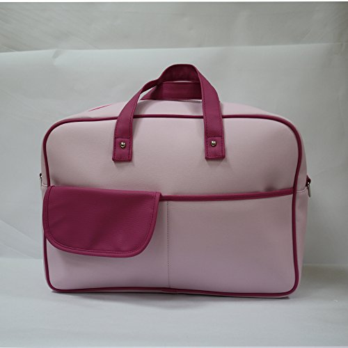 Bolso paseo Baby Star color Rosa/Fucsia