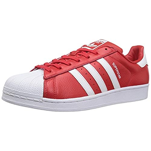 adidas Superstar Red: Amazon.com