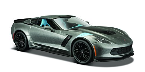 Corvette Model (Maisto 1:24 Scale 2017 Corvette Grand Sport Diecast Vehicle (Colors May Vary) Vehicle)