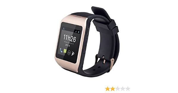 Polaroid PWatchNoirGold - Smartwatch Bluetooth 3.0, morado: Amazon ...