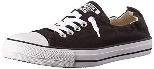 Converse Women's Shoreline Slip on Sneaker (40-41 M EU / 9 M US, Black)