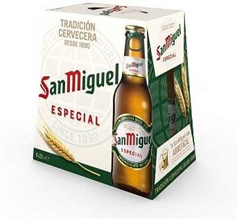 San Miguel - Especial Cerveza Dorada Lager, 5.4% Volumen de ...