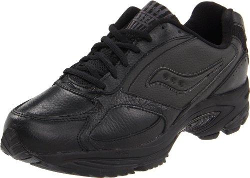 Saucony Men's Grid Omni Walking Shoe,Black,9 - Mens Saucony Black Shoes