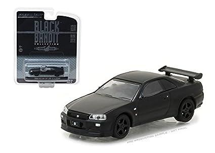 Amazon Greenlight 164 Black Bandit Series 18 2000 Nissan