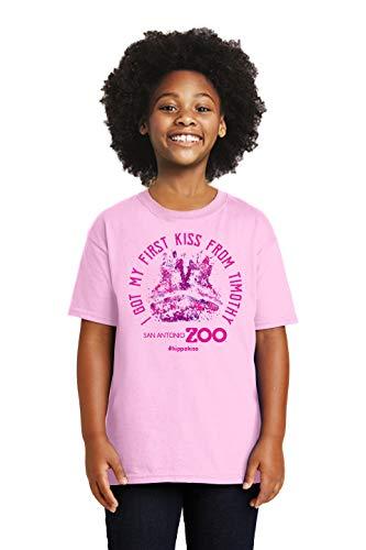 San Antonio Zoo Timothy The Hippo Kiss Tee (Youth XS)