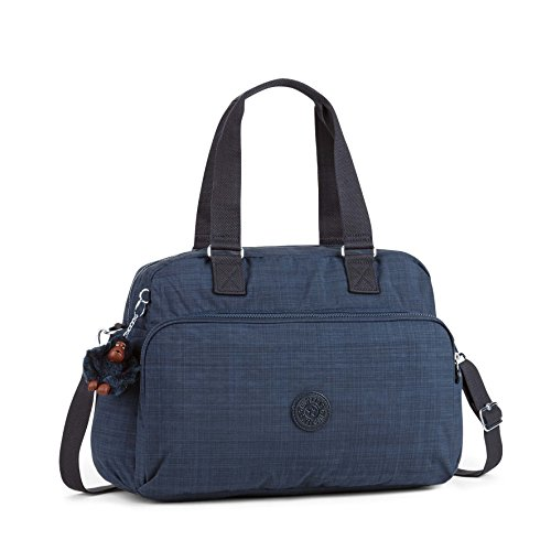 Kipling - JULY BAG - Reisetasche - Small Flower - (Multicolor) Dazz True Blue