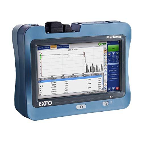 EXFO MAX-730C Optical Time Domain Reflectometer iOLM-ready 39/38 dB 1310/1550 nm EDZ 0.6 m ADZ 2.5 m from EXFO