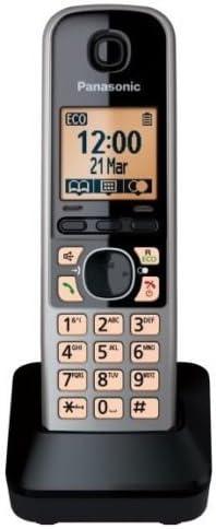Panasonic KX-TGA671 - Teléfono (handset, 100 entradas, KX-TG6711: Amazon.es: Electrónica