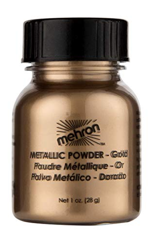 Mehron Makeup Metallic Powder (1 oz) -