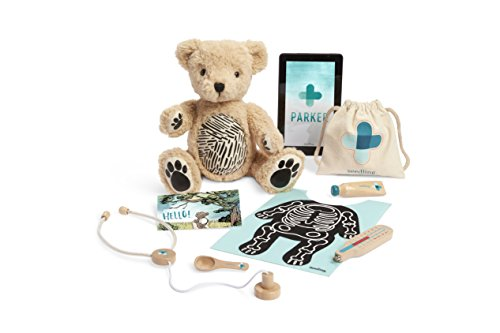 41bTtPONhzL - Seedling Parker: Your Augmented Reality Bear for Toddlers Ages 3-6 Learning Kit
